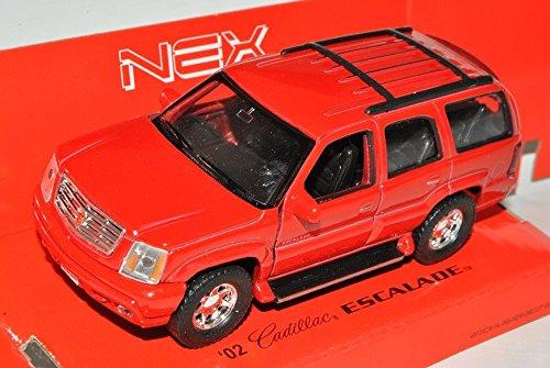 Cadillac Escalade Rot Suv GMT800 2. Generation 2001-2006 ca 1/43 1/36-1/46 Welly Modell Auto (2001 Cadillac Ca)