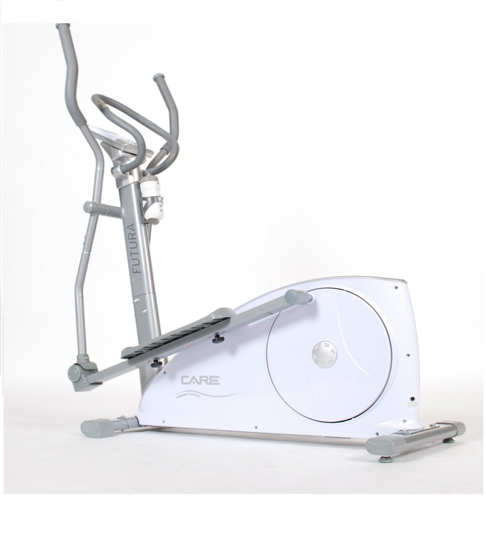 Care Fitness Unisex's Futura Generation Compact Cross Trainer-White/Silver