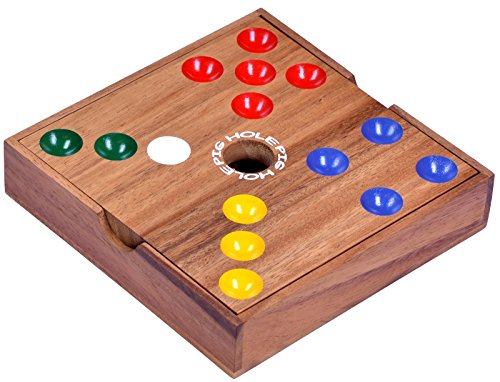 Pig-Hole-Big-Hole-Schweinchenspiel-Wrfelspiel-Gesellschaftsspiel-Brettspiel-aus-Holz