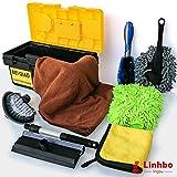 Linhbo - Kit di 8 Attrezzi per la Pulizia dell