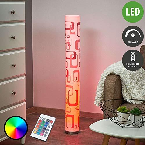 LED Lampadaire 'Mirella' à intensité variable (Moderne) en Blanc e. a. pour Salon & Salle à manger (1 lampe,à GU10, A) de Lampenwelt | Lampadaire Sur Pied, Lampe a Pied, Lampe de Sol