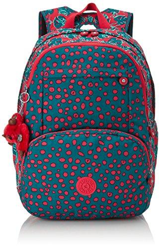 Kipling - HAHNEE - Grand sac à dos - Flamb Shell C - (Rose) Jungle Dot Play