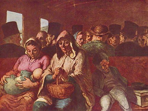 Lais Puzzle Honoré Honoré Honoré Daumier - CompartiHommes t de troisième Classe 100 Pieces dc2723