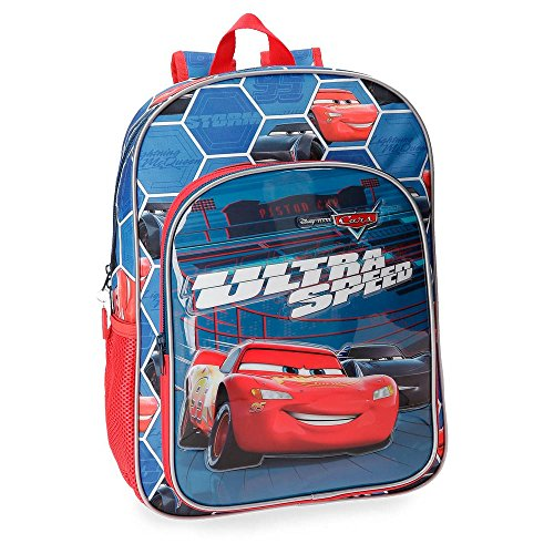Cars Ultra Speed Adaptable Backpack, 38 cm
