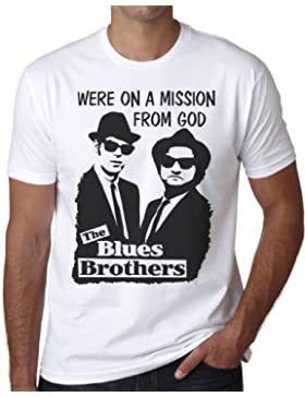 OM3 - BLUES BROTHERS - MISSION FROM GOD - T-Shirt, S - 5XL