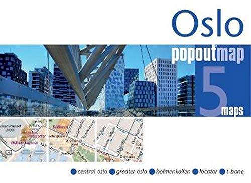 Popout Map Oslo Double PopOut Maps