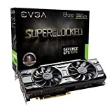EVGA NVIDIA GeForce GTX 1070 8 GB SC ACX 3.0 Black Edition Graphics Card - Black (1920 Core, 1594 MHz GPU, 1784 MHz Boost)