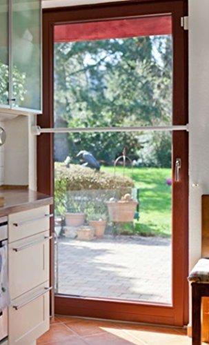 KATLOCK mechanische Einbruchsicherung (Fenster und Türen) - bis 10.000N Kraftaufnahme - 10mm Stahlbolzen im Schloss - maximale Kraft von 8.700N (entspr. 887kg) -