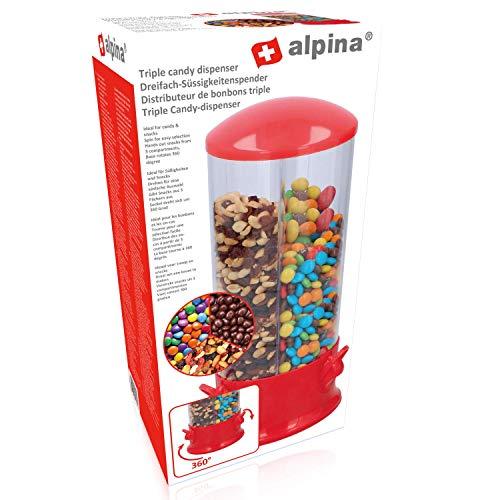 Warenhandel König Candyspender Bonbons Kaugummi Erdnüsse Cerialien Spender Süßigkeit Müsli Nuss (Süßigkeiten Und Nuss-spender)