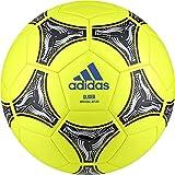 adidas DN8639, Pallone Uomo, Solar Giallo/Nero/Argento Met, 5