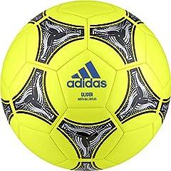 Idea Regalo - adidas DN8639, Pallone Uomo, Solar Giallo/Nero/Argento Met, 5
