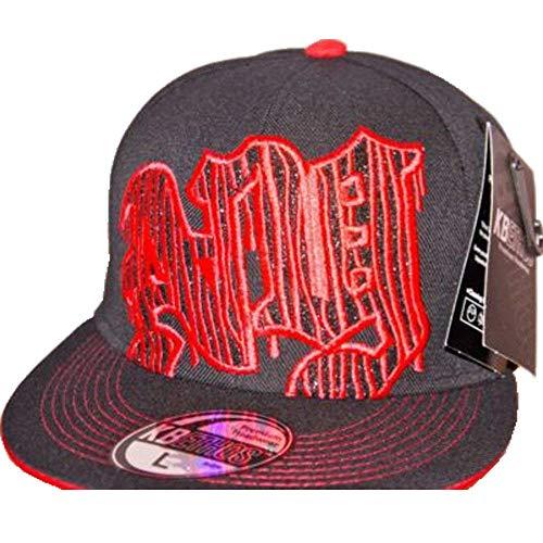 KB Ethos NY Blitz Visière Plat, drap-housse Super Bling Hip Hop Hat