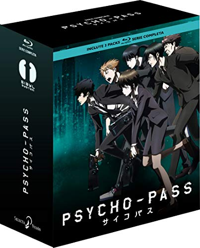 Psycho Pass. Serie Completa Episodios 1 A 33 Blu-Ray [Blu-ray]