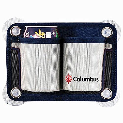 Columbus Taschen Getränkehalter für zwei Becher oder Dosen (Saugnapf-getränk-halter)