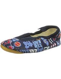 Bleyer - Zapatillas de gimnasia de lona para niño UdkVF