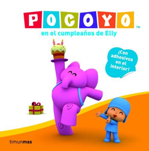 Pocoyo en el cumpleaños de Elly: Libro con adhesivos (Libros con adhesivos)
