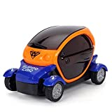 Generic 3D Cartoon Car With Light And Music Toy For Kids - Red