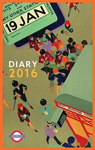 London Underground Poster Diary 2016 (Diaries 2016)