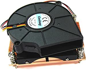 Cablematic - Cooler Slim 1U CPU (Socket 478 PIV-2800)