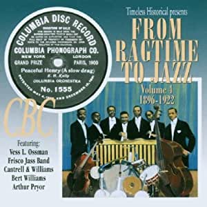 From Ragtime to Jazz, Vol. 4: 1896-1922
