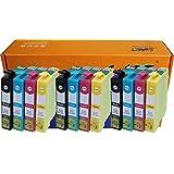 Start - 12 Cartouches d'encre compatibles avec Puce remplace Epson 29XL, T2991 XL Noir, T2992 XL Cyan (Bleu), T2993 XL Magenta (Rouge), T2994 XL Jaune pour Epson Expression Home XP-235 XP-332 XP-335 XP-432 XP-435