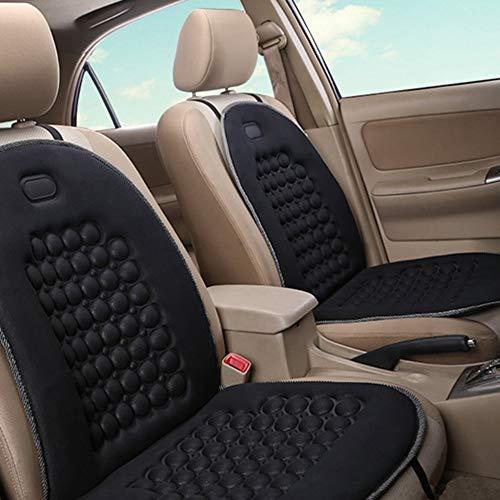 Bfhcvdf sedile universale per auto coprisedetto traspirante sedile confortevole cuscino rotondo nero