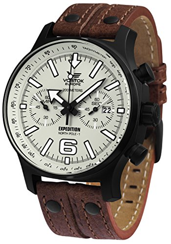 Vostok Europe Expedition Chrono Line Mens Watch 5954200