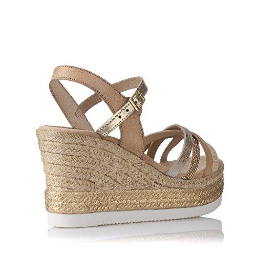 Porronet , Damen Sandalen, beige - sandfarben - Größe: 38