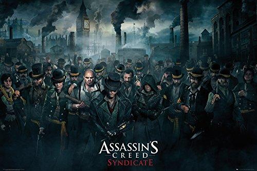 GB eye LTD, Assassins Creed Syndicate, Crowd, Maxi Poster, 61 x 91,5 cm