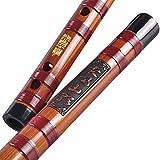 ZFF Chinese Dizi Flauto trasversale clarinetto raffinato amaro in bambù, flauto professionale per adulti, strumento musicale per suonare basso, C, D, E, F, G Tune, G