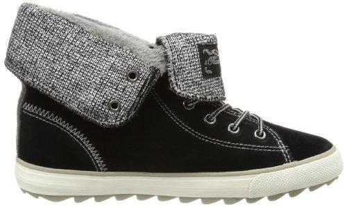 s.Oliver Casual 5-5-45204-21 Mädchen Sneaker Schwarz (Black 001)