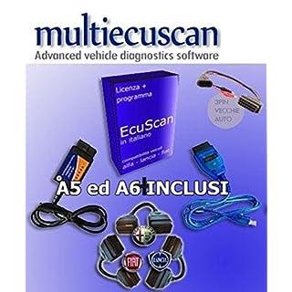 multiecuscan KIT PLUS 2 deutsch vollversion FIAT ALFA LANCIA OBD2 SERVICE