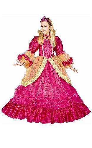 Dress Up America 539-S - Hübsche Prinzessin Kostüm, 4-6 Jahre, Taille 74 cm, Größe 107 cm, mehrfarbig