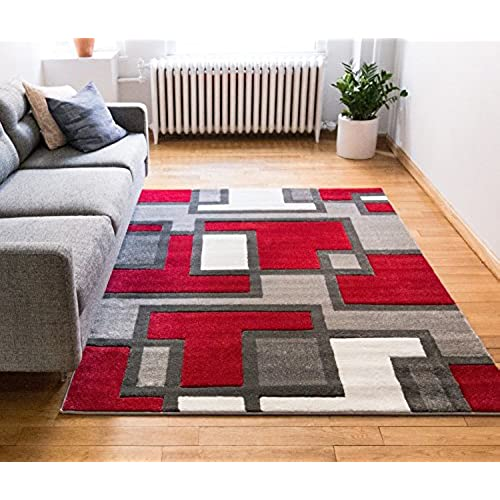 Comfy Casual Hand Carved Area Rug 160 X 220 Cm Easy To Clean Stain Fade Resistant