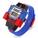 SKMEI Digital Removable Robot Toy Wrist Watch for Children