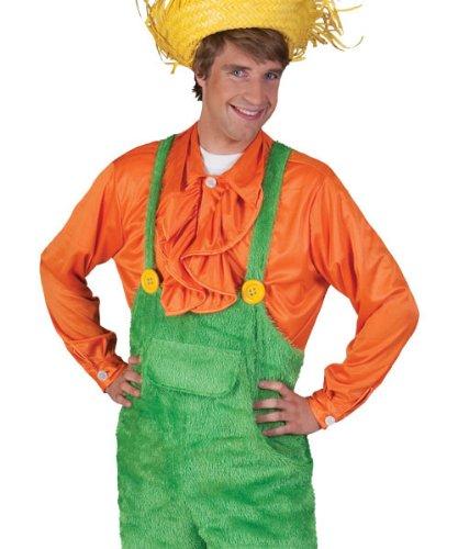 Kostüm Latzhose Gras Größe 56/58 Herren Gärtner Zwerg Gartenzwerg Wiese Rasen Weltmeiserschaft WM Karneval Fasching Pierro's