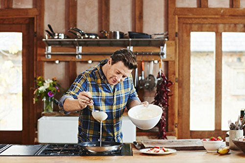 Tefal E43506 Jamie Oliver Pfanne 28 cm, edelstahl