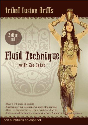 Preisvergleich Produktbild Fluid Technique with Zoe Jakes (2DVDs)