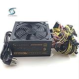 DIPU WULIAN 1800W Mining PC Power Supply 1800W Computer Power PSU 24pin for Bitcoin...
