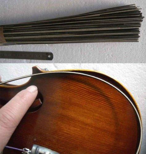 En el mundo de violín/Purfling ecalta juego de bacas para madera de arce 1 violín