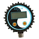 Sharplace NP-60 G1/4 Tragbarer Digital Reifendruckprüfer Manometer Reifendruckmesser Tester Meter - 0-200PSI