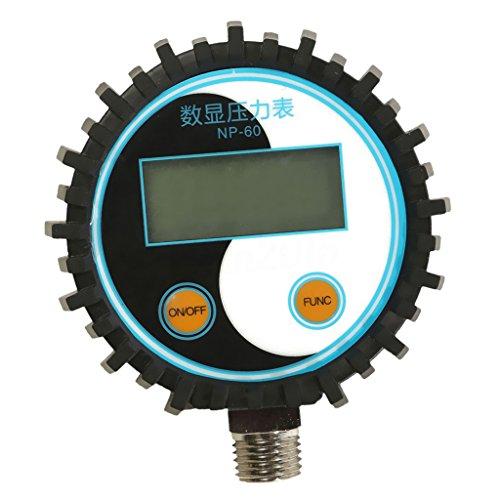 Sharplace NP-60 G1/4 Tragbarer Digital Reifendruckprüfer Manometer Reifendruckmesser Tester Meter - 0-5 PSI