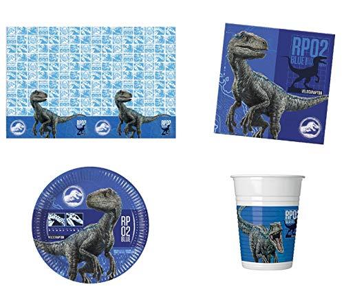 Budget Gifts Jurassic World Party Pack für 8 Gäste