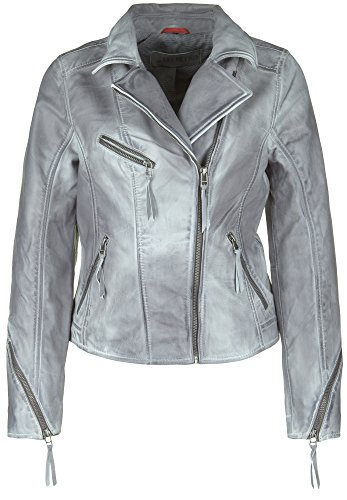 Freaky Nation Lederjacke STARLIGHT X-Large, anthracite
