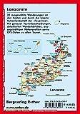 Lanzarote: Die schönsten Küsten- und Vulkanwanderungen - 35 Touren - Mit GPS-Tracks - (Rother Wanderführer) - Rolf Goetz