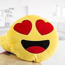 Emoticono EMOJI. Cojín de emoticono, que puede ser utilizado como alhohada. Fantástico peluche cojín de tus emoticonos favoritos. Original regalo para estas Navidades.