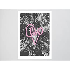 Kunstdruck Poster / Love No. 7