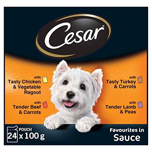 Cesar Hundefutter Feines im Frischebeutel, 2 er Pack (2 x 24 Frischebeutel x 100g) - 3
