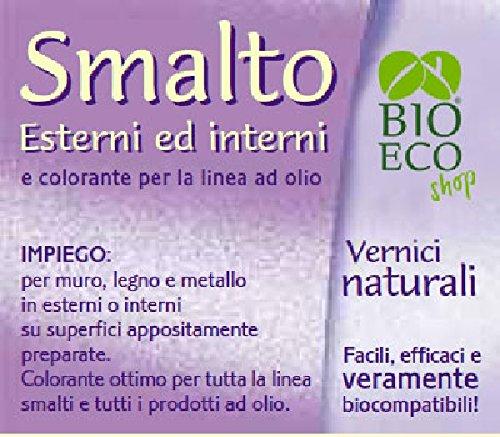 Bioecoshop Smalto Linea Olio Per Esterni Interni