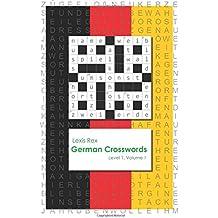 German Crosswords: Level 1: Volume 1